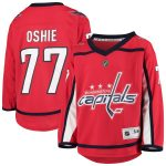 TJ Oshie Washington Capitals Youth Red Home Player Replica Jersey