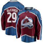 Fanatics Branded Nathan MacKinnon Colorado Avalanche Burgundy Breakaway Player Jersey