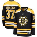 Fanatics Branded Patrice Bergeron Boston Bruins Youth Black Replica Player Jersey