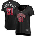 Fanatics Branded Ryan Arcidiacono Chicago Bulls Black Women's Fast Break Player Team Jersey - Statement Edition