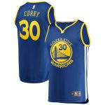 Fanatics Branded Stephen Curry Golden State Warriors Royal Fast Break Replica Jersey - Icon Edition