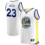Fanatics Branded Draymond Green Golden State Warriors White Fast Break Replica Jersey - Association Edition