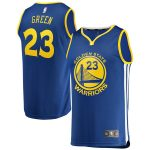 Fanatics Branded Draymond Green Golden State Warriors Youth Royal Fast Break Replica Jersey - Icon Edition