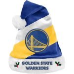 Golden State Warriors Team Santa Hat