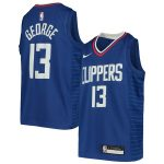 Nike Paul George LA Clippers Youth Royal Swingman Jersey - Icon Edition