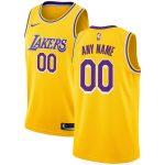 Nike Los Angeles Lakers Gold Custom Swingman Jersey - Icon Edition