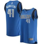 Fanatics Branded Dirk Nowitzki Dallas Mavericks Youth Blue Fast Break Replica Jersey