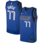 Nike Luka Doncic Dallas Mavericks Men's Royal Swingman Jersey