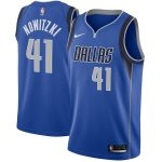 Nike Dirk Nowitzki Dallas Mavericks Royal Swingman Jersey - Icon Edition
