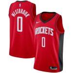Nike Russell Westbrook Houston Rockets Red 2019/2020 Swingman Jersey - Icon Edition
