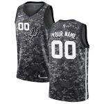 Nike San Antonio Spurs Black 2019/20 Swingman Custom Jersey - City Edition