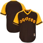Majestic San Diego Padres Brown Big & Tall Cooperstown Cool Base Jersey