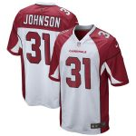 Nike David Johnson Arizona Cardinals Youth White Game Jersey