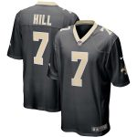 Nike Taysom Hill New Orleans Saints Black Game Jersey