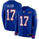 Nike Josh Allen Buffalo Bills Royal Therma Long Sleeve Player Jersey