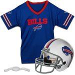 Franklin Sports Buffalo Bills Youth Helmet and Jersey Set