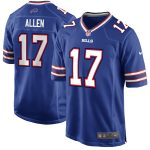 Nike Josh Allen Buffalo Bills Youth Royal Game Jersey