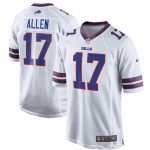 Nike Josh Allen Buffalo Bills White Game Jersey