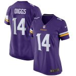 Nike Stefon Diggs Minnesota Vikings Women's Purple Game Jersey