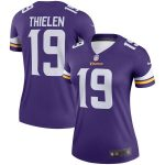 Nike Adam Thielen Minnesota Vikings Women's Purple Legend Jersey