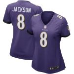 Nike Lamar Jackson Baltimore Ravens Women's Purple Game Jersey