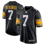 Nike Ben Roethlisberger Pittsburgh Steelers Black Alternate Game Jersey