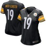 Nike JuJu Smith-Schuster Pittsburgh Steelers Women's Black Game Jersey