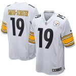 Nike JuJu Smith-Schuster Pittsburgh Steelers Youth White 2018 Game Jersey