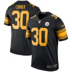 Nike James Conner Pittsburgh Steelers Black Color Rush Legend Jersey