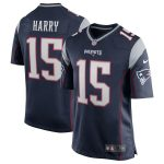 N'Keal Harry New England Patriots Nike Game Jersey - Navy