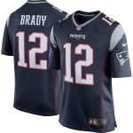 Nike Tom Brady New England Patriots Youth Navy Blue Team Color Game Jersey