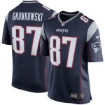 Nike Rob Gronkowski New England Patriots Youth Navy Blue Team Color Game Jersey -