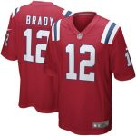 Nike Tom Brady New England Patriots Red Alternate Game Jersey
