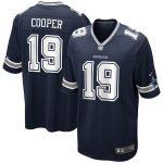 Nike Amari Cooper Dallas Cowboys Navy Game Jersey