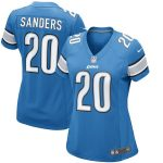 Nike Barry Sanders Detroit Lions Women's Blue Retired Game Jersey