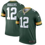 Nike Aaron Rodgers Green Bay Packers Green Legend Jersey