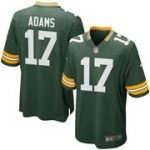 Nike Davante Adams Green Bay Packers Youth Green Team Color Game Jersey