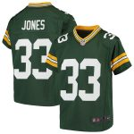 Aaron Jones Green Bay Packers Nike Youth Game Jersey - Green