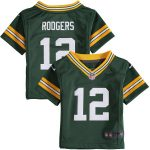 Nike Aaron Rodgers Green Bay Packers Infant Green Team Color Game Jersey