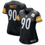 Nike T.J. Watt Pittsburgh Steelers Women's Black Game Jersey
