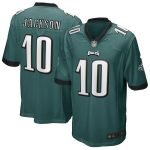 Nike Desean Jackson Philadelphia Eagles Midnight Green Game Jersey