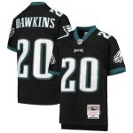 Mitchell & Ness Brian Dawkins Philadelphia Eagles Youth Black 2004 Legacy Retired Player Jersey