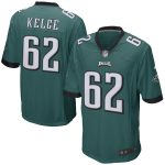 Nike Jason Kelce Philadelphia Eagles Midnight Green Game Jersey