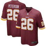 Nike Adrian Peterson Washington Redskins Burgundy Player Game Jersey