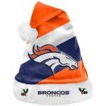 Denver Broncos Team Santa Hat