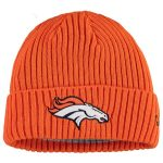 New Era Denver Broncos Youth Orange Core Classic Cuffed Knit Hat