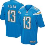Nike Keenan Allen Los Angeles Chargers Youth Powder Blue Game Jersey