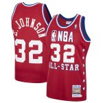 Mitchell & Ness Magic Johnson Red Western Conference 1988 All-Star Hardwood Classics Authentic Jersey