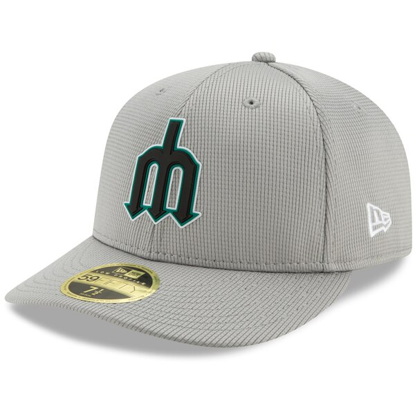 thoughts on arrives differently New Era Seattle Mariners Gray Clubhouse Low Profile 59FIFTY Fitted ...
