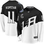 Fanatics Branded Anze Kopitar Los Angeles Kings Black 2020 Stadium Series Breakaway Player Jersey